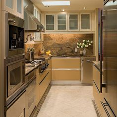 Kitchen Tile Flooring Design Ideas, Pictures, Remodel, and Decor - page 10