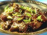 Beef Recipes :Spicy Tangerine Beef Recipe