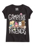 Campfire Friends Graphic Tee