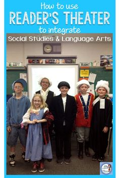 Want to use Reader's Theater to help integrate Social Studies and Language Arts! This blog post has some great tips for doing so.