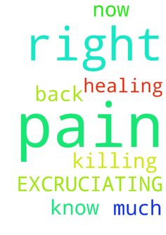 EXCRUCIATING PAIN -  My back is killing me again. I am in so much pain right now and I do not know what to do. Please pray for healing, in Jesus Name. Amen  Posted at: https://prayerrequest.com/t/Lhk #pray #prayer #request #prayerrequest
