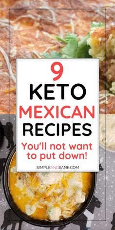 9 Keto Mexican Recipes You'll Be Sure to Love (and cook a lot!) Celebrate Cinco de Mayo keto style any day of the month! Easy Mexican ketogenic recipes that are great for Keto, Low Carb, GOLO, and Trim Healthy Mama S fuels. Ketogenic Diet For Beginners, Ketogenic Recipes, Diet Recipes, Healthy Recipes, Protein Recipes, Uk Recipes, Snacks Recipes, Smoothie Recipes, Gourmet Recipes