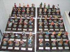 Coleccion de 59 soldaditos marca Almirall Palou con sus bases - Foto 1