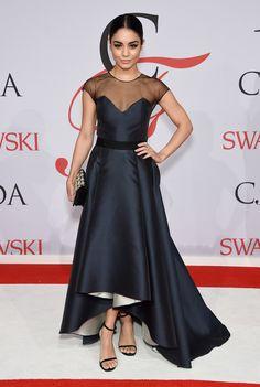 Vanessa Hudgens Fishtail Dress