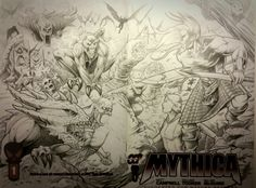 New Mythica cover in progress