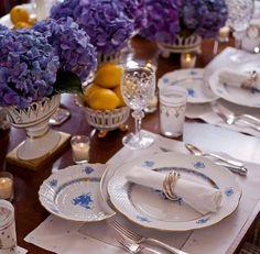 #herend #tavola #lunch #piatti #apparecchiatura #porcellana #tableware #setting #biancoeblu #blueandwhite
