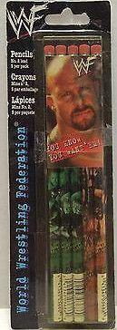 (TAS004178) - WWE WWF WCW Wrestling Pencils - Stone Cold Steve Austin