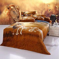 3D Lion Bedding Set Queen Size 5pcs E Bedding Sets https://www.amazon.com/dp/B01B9FXYF2/ref=cm_sw_r_pi_dp_HFCHxbVYPJJV2