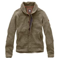 Timberland - Men's Lambswool Donegal Full-Zip Sweater