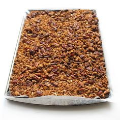 Pumpkin Spice Granola with Pecans & Cranberries | Lorimer Street Kitchen
