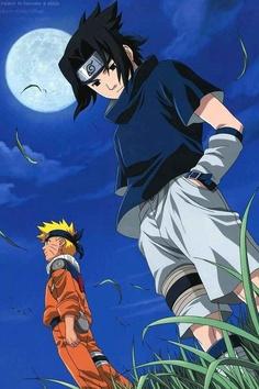 """""""Uchiha Sasuke and Uzumaki Naruto Naruto Dan Sasuke, Naruto Uzumaki Shippuden, Anime Naruto, Naruto And Sasuke Wallpaper, Naruto Sasuke Sakura, Wallpaper Naruto Shippuden, Images Kawaii, Super Anime, Naruto Teams"""
