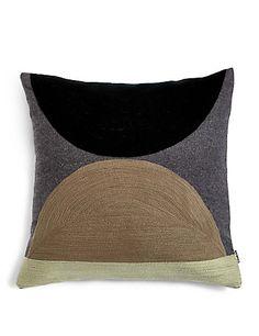 Wool Blend Conran Crewel Circles Cushion