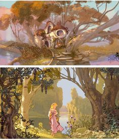 Disney Enchanted 2007.Concept art.