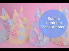 Chapéu de festa - Preparativos #4 , Aniversário Sophia (1 ano)