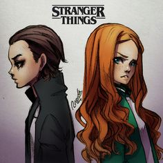 Eleven and mad max stranger things by rawder-beoluve. Stranger Things Videos, Stranger Danger, Stranger Things Aesthetic, Stranger Things Season 3, Stranger Things Funny, Eleven Stranger Things, Stranger Things Netflix, Stranger Things Fan Art, Mad Max