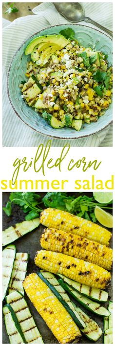 If you're looking for a fresh side dish for your next barbecue, look no further! This Grilled Corn Summer Salad is crisp, flavorful, loaded with veggie goodness and topped with a tasty cilantro lime vinaigrette. #vhblends #clvr https://www.pinterest.com/villageharvest/