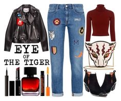 """""""Eye of the Tiger"""" by latoyacl ❤ liked on Polyvore featuring Miu Miu, STELLA McCARTNEY, A.L.C., Jeffrey Campbell, Witchery, The Collection by Phuong Dang and Lancôme"""