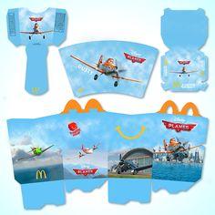 McDonald's Happy Meal - Planes by Michael Biernat, via Behance