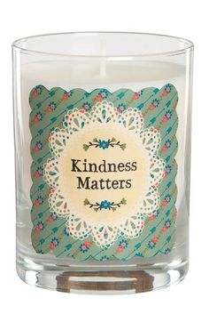Natural Life 'Kindness Matters' Candle available at #Nordstrom