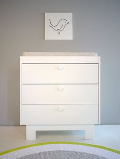 The Eicho collection has a new dresser with a fresh design & wooden drawer pulls.