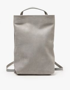 Grey Large Tote Pack