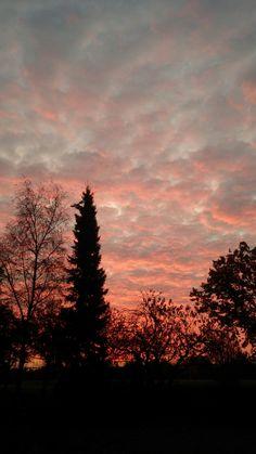 zonsopgang in November