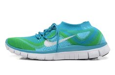 3a6f3651126a Nike Free Flyknit 5.0 Neo Turquoise White Atomic Teal Chlorine Blue Best On  Feet 615806 413