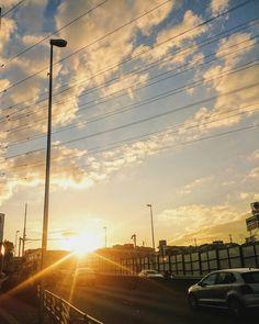 ゆうひ  #空 #夕焼け #夕陽 #夕日 #イマソラ #いまそら #ダレカニミセタイソラ #写真好きな人と繋がりたい #写真撮ってる人と繋がりたい #photo #japan #landscape #日本 #風景 #instagram #igers #igersjp #sun #sunshine #sunset #sunsetlovers #igで繋がる空 #sky #skylovers #skyporn #skypainters #skyscraper  #photooftheday #instasky #instagood