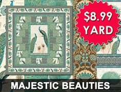 Shop Wilmington Prints Majestic Beauties $8.99 Yard