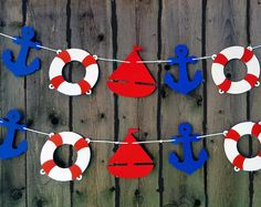 Nautical Party Garland - Nautical Garland Nautical Party Decorations Ahoy Its A Boy Nautical Baby Shower Decorations Birthday Baby Sprinkle Nautical Baby Shower Decorations, Nautical Banner, Nautical Nursery Decor, Nautical Party, Birthday Decorations, Theme Animation, Sailor Theme, Party Garland, Baby Sprinkle