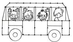 kleurplaat verkeersbord - Google zoeken Bus Safety, School Painting, Transportation Theme, Road Transport, Sport Craft, Baby Games, Toddler Crafts, Preschool Activities, Coloring Pages