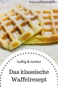 klassisches Waffelrezept #waffeln #waffles #dessert