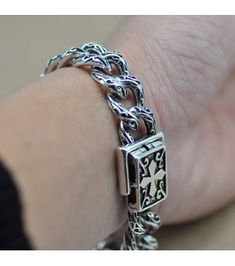 Multilayer Leather Tibetan Silver Male Bracelet Parataxis Dragon Accessoires DS