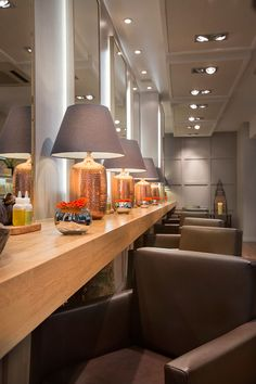 Reis Design were appointed by Edward James London to create a luxurious and relaxing salon format for their latest Aveda Lifestyle salon in London, UK.