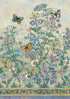 BugArt Decoratives ~ Butterfly Bush. DECORATIVES Designed by Jane Crowther.