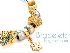 All kinds of beads, italian, and link charm bracelets and fashion bracelets at Pugster.  http://www.pugster.com/bracelets