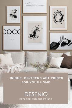 Living Room Art, Home And Living, Decor Room, Bedroom Decor, Home Decor, Wall Decor Design, Relaxation Room, Modern Bathroom Decor, New Room