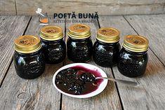 Dulceata naturala de afine fara conservanti, reteta simpla, fara multa fierbere Pudding, Canning, Gem, Desserts, Food, Tailgate Desserts, Meal, Deserts, Essen