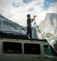 véhicule utilitaire photographie Chris Burkard #cars #automoto