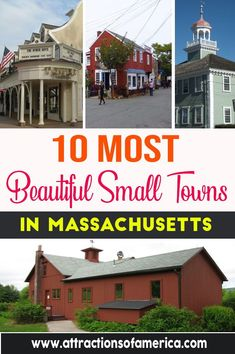 Every small town has a unique feel and culture, making a town-hopping day trip or two an amazing choice. Here are the 10 most beautiful small towns in Massachusetts.
