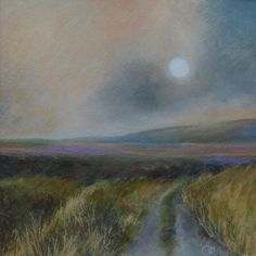 Buy Moorland Landscape Original Atmospheric Acrylic Painting, Acrylic painting by Veronique Oodian on Artfinder. Discover thousands of other original paintings, prints, sculptures and photography from independent artists.