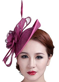 Cocktail Pillbox Hat Fascinator Hair Clip Bridal Headwear... http://www.amazon.com/dp/B018LB2HRI/ref=cm_sw_r_pi_dp_dXtkxb1W50A2J