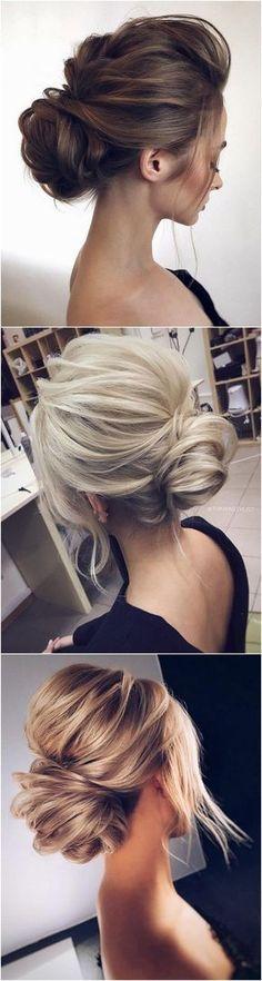 elegant updo wedding hairstyles#weddinghairstyles #bridalfashion #updohairstyles