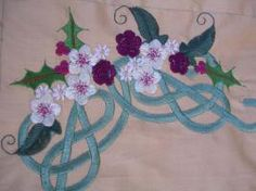 Celtic Christmas Embroidery Designs