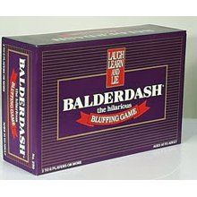 Balderdash...my all time favorite game!  Hilarious to play!  Some of my best memories are playing this game with family and friends.
