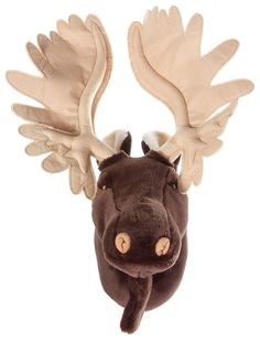 Bass Pro Shops® Plush Wall Headmount - Moose | Bass Pro Shops