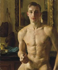 "Lt Jole [this is a nod to Dira Sudis -AO3:The World That You Need- take on the lovely young man who is the Prime Minister's personal secretary] (Konstantin Somov portrait of Boris Snezhkovsy ""The Boxer"" 1933)"