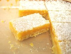 My Favorite Lemon Bars – a delicious moment