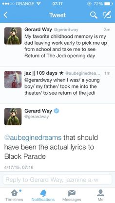 "mirysh: ""Gerard just makes my heart melt """