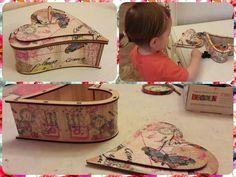 Шкатулка для украшений своими руками 💍📿 Jewelry box 👑 G.s.bolshakova@mail.ru.  Пишите!